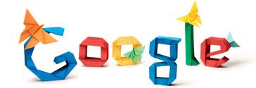 Google Logo: Akira Yoshizawa's 101st birthday - grandmaster of origami